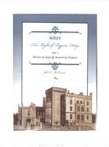 Sligo The Light of Bygone Days Vol 1